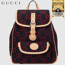 GUCCI(グッチ) 子供用リュック・バックパック 累積売上総額第1位【GUCCI★20/21秋冬】KID´S GG BACKPACK