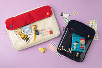 Peanuts☆SNOOPY POCKET laptop pouch13インチ 全2色