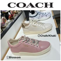 【COACH】●お買い得●G4966●CLIP LEATHER LOW TOP SNEAKER