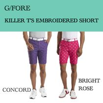 G/FORE★KILLER T'S EMBROIDERED SHORT★スカル ショートパンツ