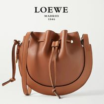 ∞∞ LOEWE ∞∞ Horseshoe small leather shoulder バッグ☆
