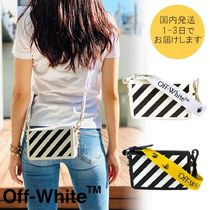 【国内即発】OFF WHITE★miniクリップ CROSS BODY BAG♪