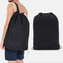 【Stella McCartney】Stella Logo Beach Bag ネイビー