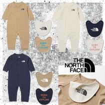 【THE NORTH FACE 】♪ロングスリーブロンパースアンド2Pビブ♪
