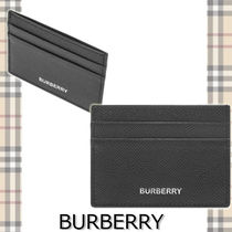★BURBERRY★BUSINESS GRAIN LEATHER CARD シンプル♪