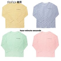 【hour minute seconds】STRIPE T-SHIRTS  ジェジュン 着用