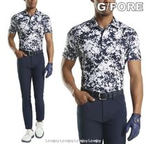 G/FORE ☆ ABSTRACT FLORAL POLO ゴルフ 半袖 ポロシャツ