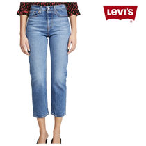 Levi's Wedgie Straight Jeans クロップド丈 ストレートジーンズ