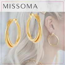 【MISSOMA】LUCY WILLIAMS GOLD ENTWINE HOOPS★ピアス