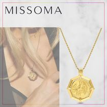 【MISSOMA】LUCY WILLIAMS GOLD OCTAGON MEDALLION ネックレス
