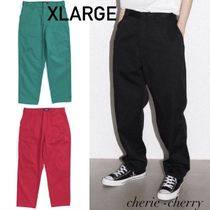 【XLARGE】PATCHED WORK PANTS ロゴパッチ ワーク パンツ