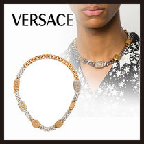 【Versace】チェーン ネックレス バイカラー