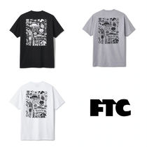 ★FTC アートワーク ロゴ by MIKE GIANT Tシャツ 半袖 送料込★