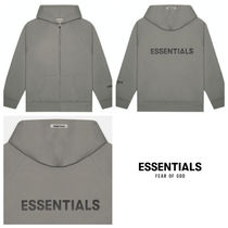 関税込! FEAR OF GOD ESSENTIALS ZIP パーカー CHARCOAL 新色