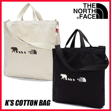 THE NORTH FACE 子供用トート・レッスンバッグ 【THE NORTH FACE】☆K'S COTTON BAG☆★安全発送★