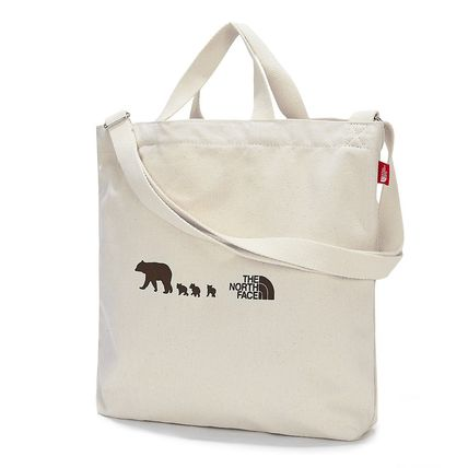 THE NORTH FACE 子供用トート・レッスンバッグ 【THE NORTH FACE】☆K'S COTTON BAG☆★安全発送★(3)