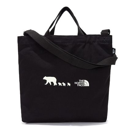 THE NORTH FACE 子供用トート・レッスンバッグ 【THE NORTH FACE】☆K'S COTTON BAG☆★安全発送★(13)