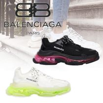 20AW BALENCIAGA TRIPLE S CLEAR SOLE スニーカー