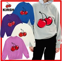 ☆韓国の人気☆KIRSH☆BIG CHERRY SWEATSHIRT JA☆7色☆