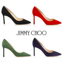 Jimmy Choo☆ROMY 85  Suede Pointed Pumps☆パンプス☆送料込