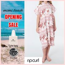 RIP CURL(リップカール) 子供用水着・ビーチグッズ 【送料・関税込み】〈RIP CURL〉Lei Lei Hooded Towel (8-16歳)