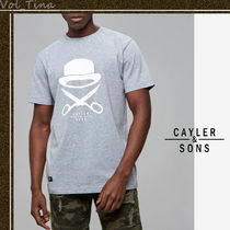 CAYLER&SONS◆ケイラー&サンズ  C&S PA ICON ロゴTシャツ G/W