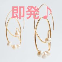 ZARA【NEW】 MISMATCHED EARRINGS WITH NATURAL PEARLS