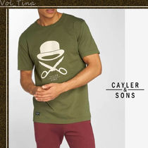 CAYLER&SONS◆ケイラー&サンズ  C&S PA ICON ロゴTシャツ O/W