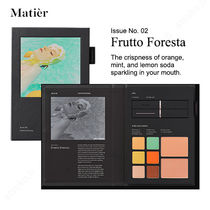 Matier(マティエ) アイメイク Matier★Issue No.02 Frutto Foresta メイクアップブック/追跡付