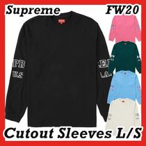 Supreme Cutout Sleeves L/S LONG SLEEVE Top AW FW 20 WEEK 1