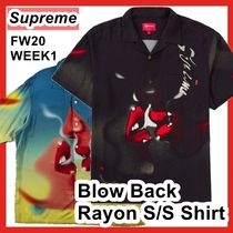 Supreme Blow Back Rayon S/S Shirt シャツ AW FW 20 WEEK 1