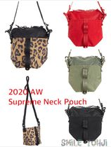 ★20AW WEEK1★Supreme Neck Pouch