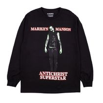 プレジャーズ Pleasures Marilyn Manson Superstar L/S Tee