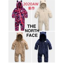 The North Face* Baby CAMPSHIRE ロンパース くま耳付 ふわもこ