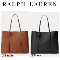 【Ralph Lauren】大人気●トート●Pebbled Leather Lennox Tote