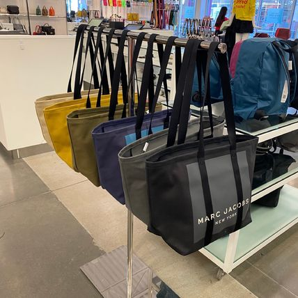 MARC JACOBS マザーズバッグ MARC JACOBS ロゴ キャンバス トート マザーズバッグ♪(2)