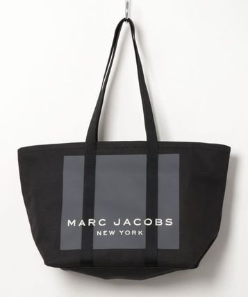 MARC JACOBS マザーズバッグ MARC JACOBS ロゴ キャンバス トート マザーズバッグ♪(3)