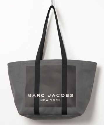 MARC JACOBS マザーズバッグ MARC JACOBS ロゴ キャンバス トート マザーズバッグ♪(4)