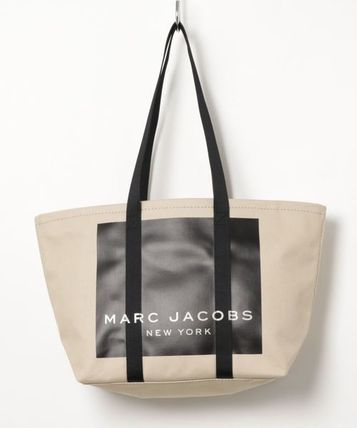 MARC JACOBS マザーズバッグ MARC JACOBS ロゴ キャンバス トート マザーズバッグ♪(5)