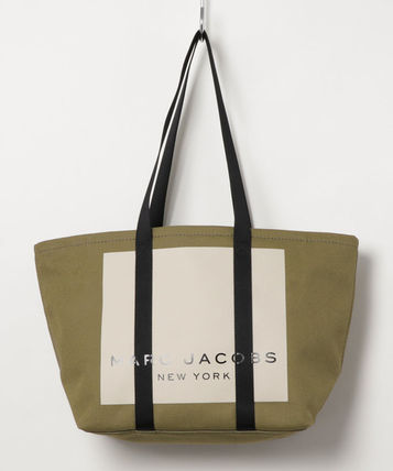 MARC JACOBS マザーズバッグ MARC JACOBS ロゴ キャンバス トート マザーズバッグ♪(6)