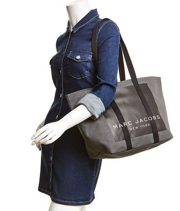 MARC JACOBS マザーズバッグ MARC JACOBS ロゴ キャンバス トート マザーズバッグ♪(12)