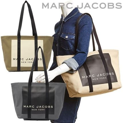 MARC JACOBS マザーズバッグ MARC JACOBS ロゴ キャンバス トート マザーズバッグ♪(13)