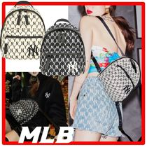 韓国の人気☆MLB KOREA☆NEW YORK YANKEES MONOGRAMミニリュック