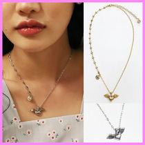 【August Harmony】Flying heart necklace〜ネックレス