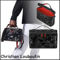 ★Christian Louboutin★Kypipouch バッグ ブラック/シルバー