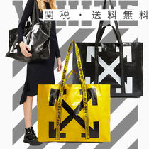【SALE】OffWhite★Commercial shopper トートバッグ