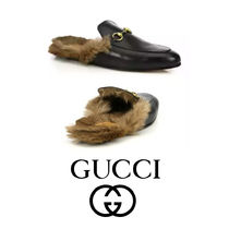 追跡あり GUCCI Princetown Leather Slipper サンダル