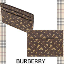 ★BURBERRY★TB MONOGRAM SANDON CARD HOLDER おしゃれロゴ♪