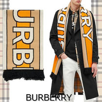 ★BURBERRY★FOOTBALL SCARF スポーツデザイン♪
