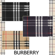 ★BURBERRY★CLASSIC CHECK CASHMERE SCARF 人気デザイン♪
